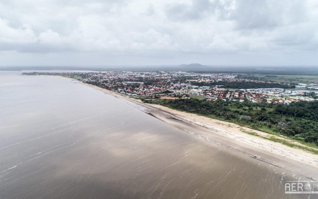 📷 – Relevé topographique du littoral de Kourou [2]