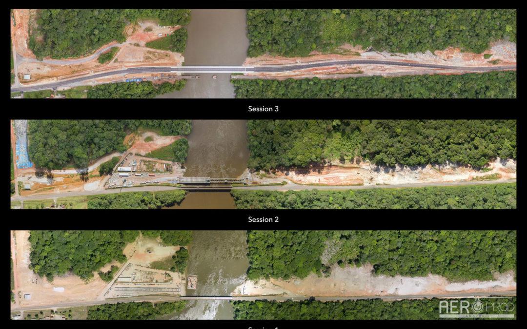 🎥|📷 – Fin de notre mission de suivi du chantier du Pont de la Comté