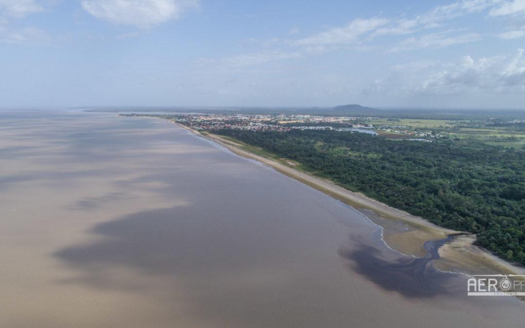 📷 – Relevé topographique du littoral de Kourou [3]