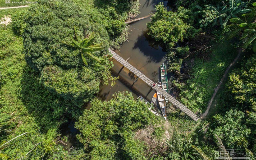? – Expédition sur le fleuve Oyapock pour l'opération «Espace au fil du fleuve»