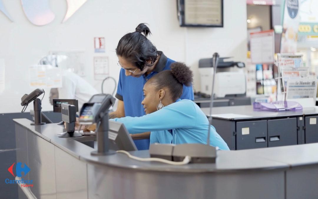 🎥 – Tournage pour Carrefour Matoury