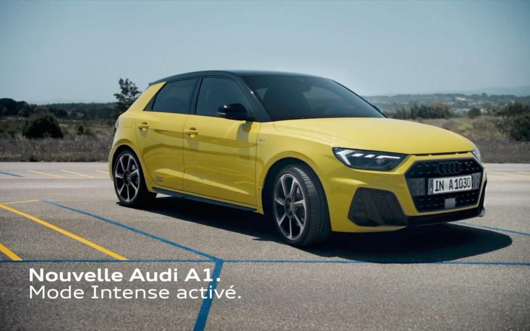 🎥 – Tournage nouvelle Audi A1